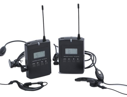 Wireless tour guide system WAT01-TW
